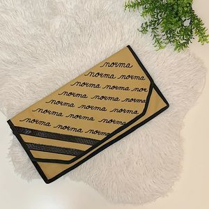 """Vintage Personalized """"Norma"""" Canvas Clutch"""